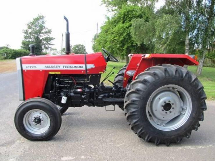 Massey Ferguson 265 4wd tractor for sale