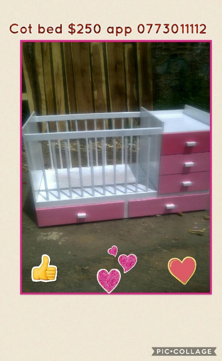 Cot bed for sale harare for Beds zimbabwe