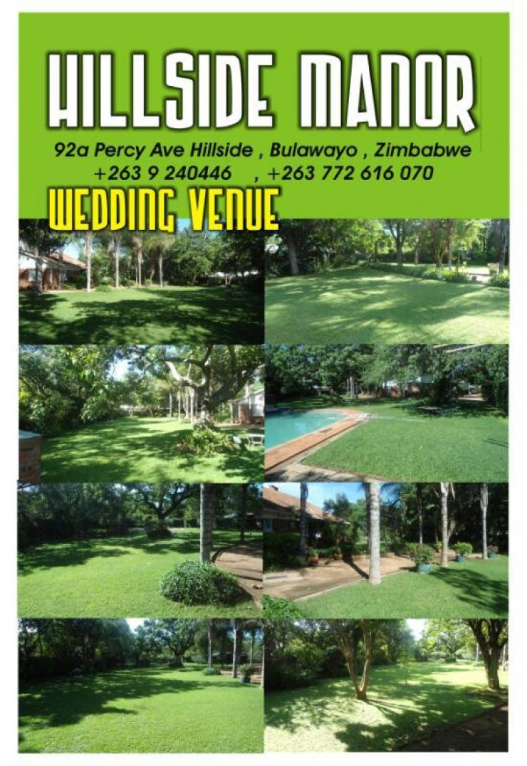 Wedding venues around bulawayo zimbabwe