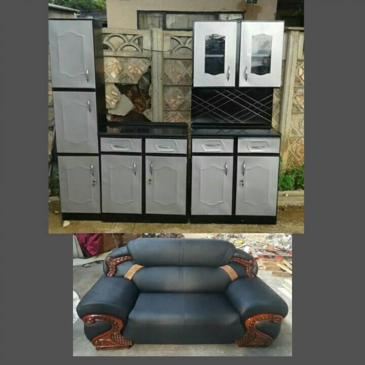 Piece Metal Kitchen Unit On Sale Bulawayo - Grey kitchen units sale